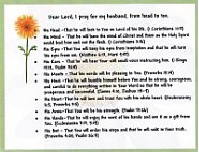 HusbandPrayerCard