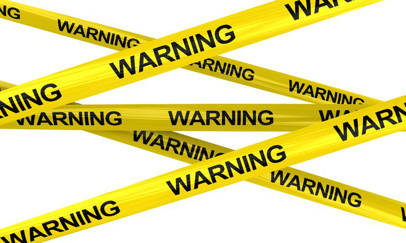 Remind your fans about warnings