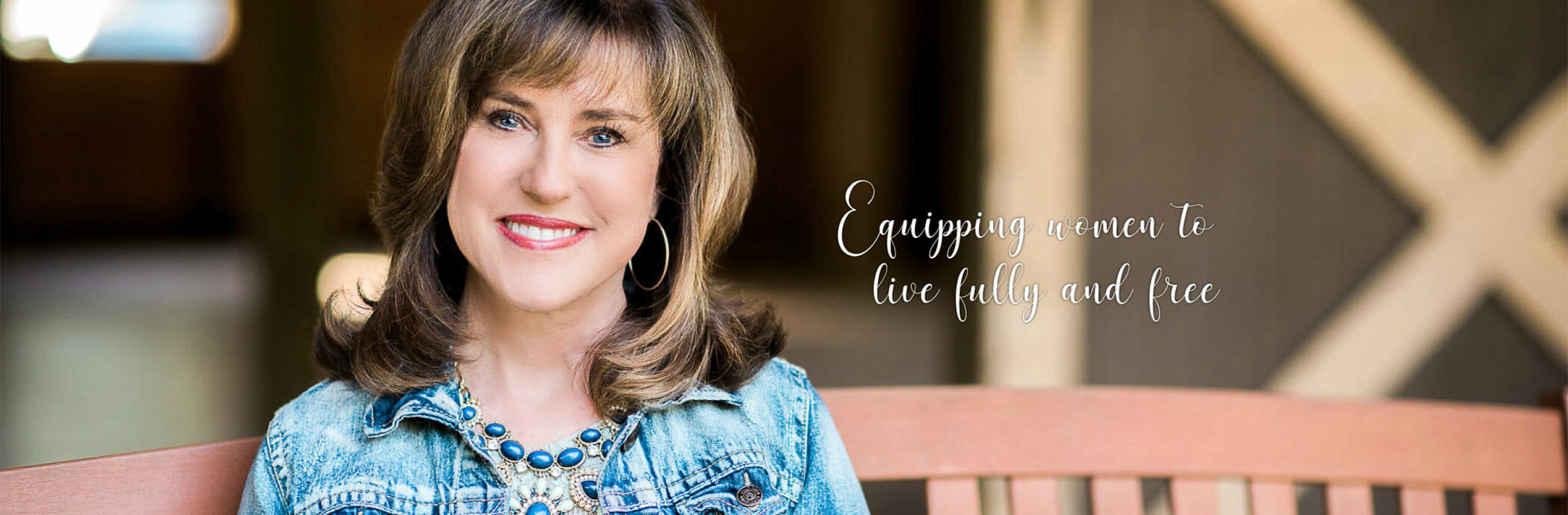 Sharon Jaynes | Equipping Women to Live Fully and Free