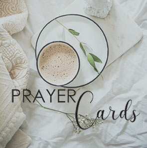 Prayer Cards - Sharon Jaynes