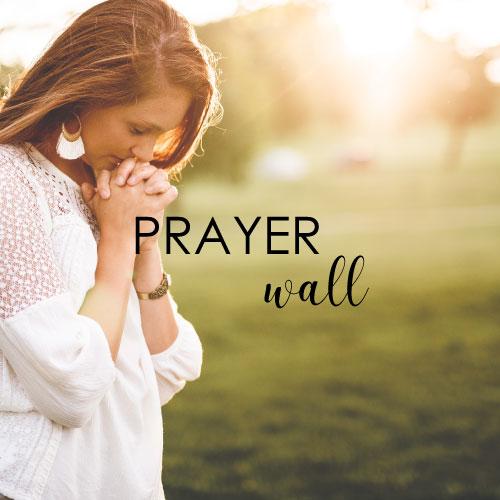Sharon Jaynes | Prayer Wall